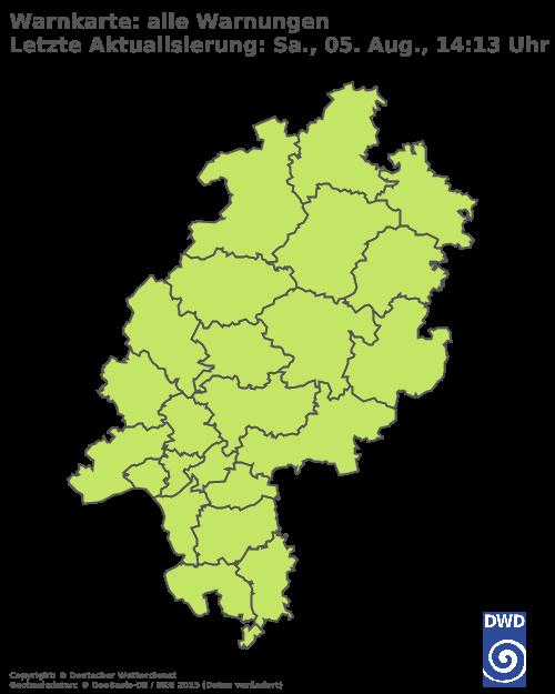 Aktuelle Wetterwarnungen für Wiesbaden